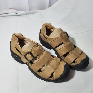 Keen Women's Sport Hiking Leather Sandals sz 9